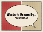 Words to Dream By